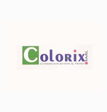 Logo of Colorix: big local Printing and Communication Company.