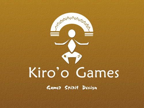 Logo of the Kiro'o Games Studio: it carries and reflects all the symbolism behind the studio which is, among others to create an inner awakening among players by communicating existential values of life to them (perseverance, work on oneself, etc.) through the game.